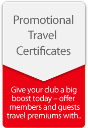Promotional Travel Certs